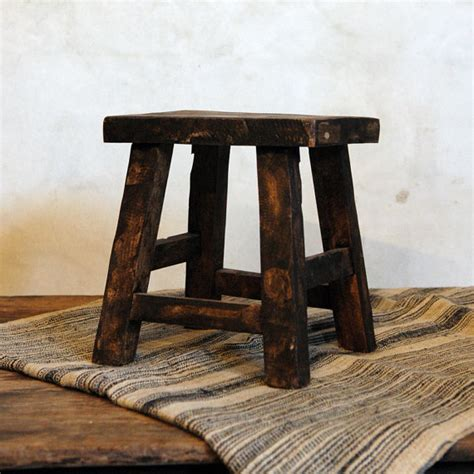 Stool Risers by Antique Small Stool Riser