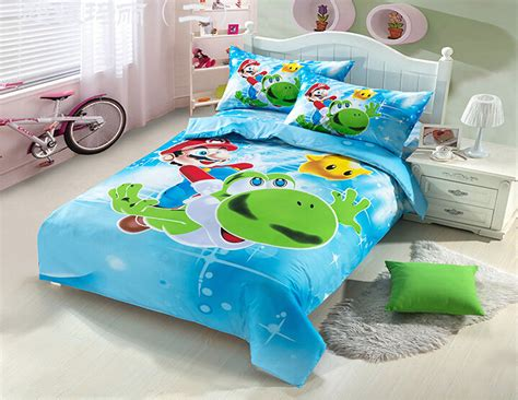 pokemon bed set factory outlet 100 cotton super mario bedding set mickey