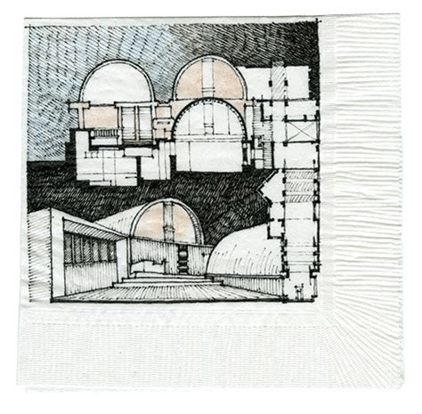 B V Doshi Sketches by Winner Non Registered Architect