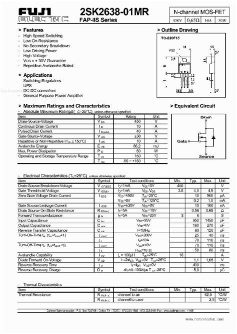 transistor c144 datasheet pdf k2638 2719937 pdf datasheet ic on line