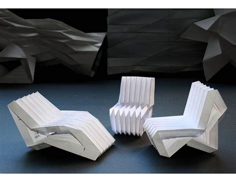 Origami Furniture Design - best 25 origami chair ideas on floor chair
