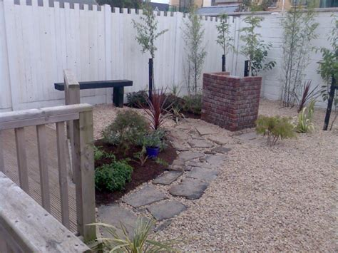 Small Garden Pebble Garden Low Maintenance Peter Donegan Small Pebble Garden Ideas