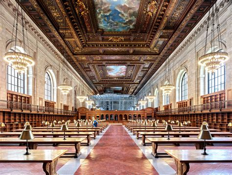library reading room the new york public library s beloved rose main reading