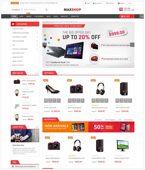 themeforest woocommerce theme free download 20 best free premium wordpress themes to download for 2016