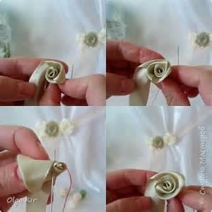 de como hacer folores de liston paso a paso para hacer flores con listones
