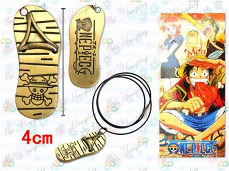 Luffy Sandal Spandex one accessories luffy sandals black rope necklace