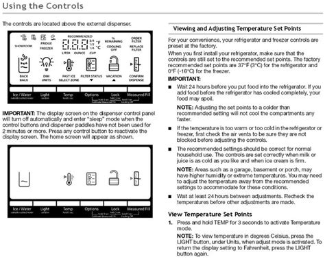 four panel door manual whirlpool door refrigerator troubleshooting user