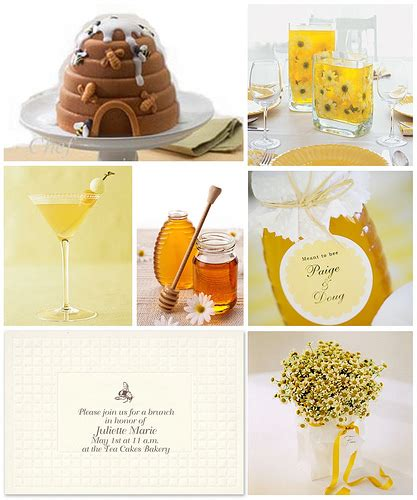 inspiration bees here are some great ideas for a bee themed baby shower bridal shower or