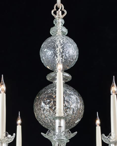 style chandeliers a pair of george ii style chandeliers