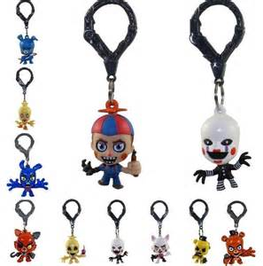 Five nights at freddy s fnaf collector s clips figure keychain