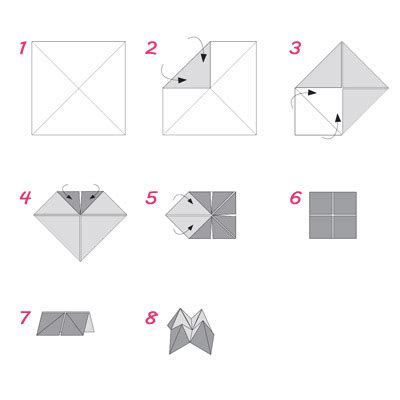 How To Make A Paper Fortune Teller Step By Step - how to make fortune teller origami how to make a fortune