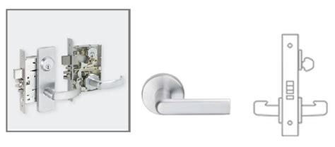 Schlage L9070 01 Mortise Classroom Lock Schlage L9453 Template
