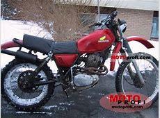 Honda XL 250 1977 Specs and Photos Kawasaki 250 Ccm Enduro