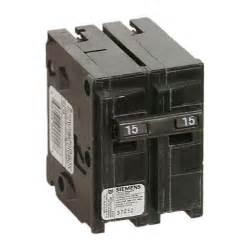 Bathroom Light Heater - 2 pole thermomagnetic circuit breaker rona