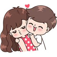 imagenes de parejas romanticas caricaturas boobib cute couples for boy vol 2 line stickers