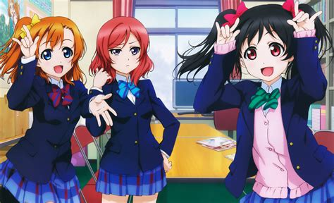 wallpaper anime love live nico nico nii 8k ultra hd wallpaper and background image