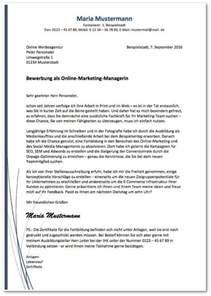 Anschreiben Recruiter Bewerbungsvorlagen 220 Ber 40 Gratis Muster