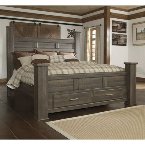 ashley furniture storage bed signature design by ashley furniture juararo poster
