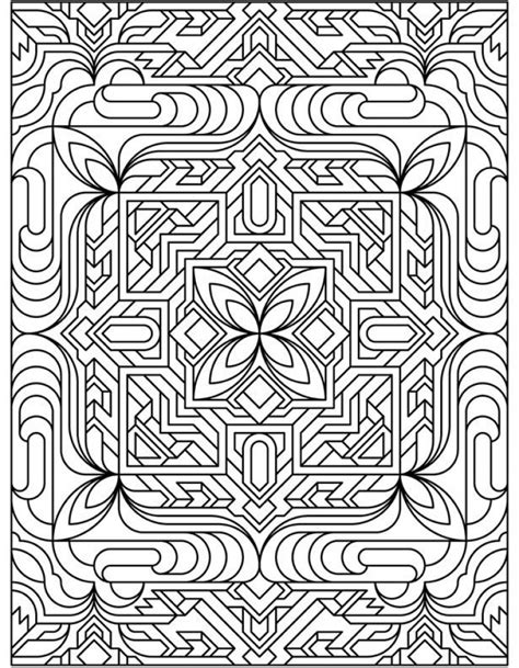 printable art deco get this free printable art deco patterns coloring pages