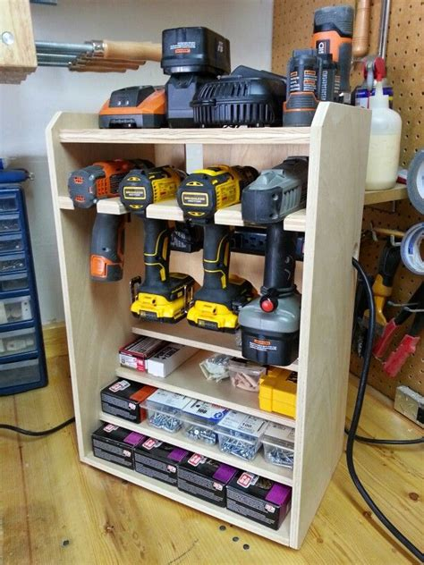 drill rack woodworking bench diy woodworking
