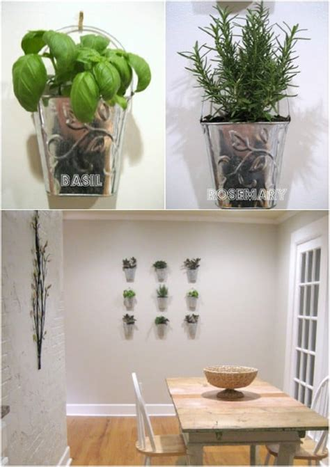 brilliant  creative diy herb gardens  indoors