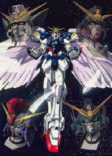 Kaos Gundam Gundam Mobile Suit 44 gundam wing 11th 16th favorite animes