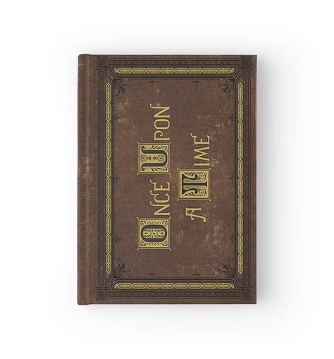 once upon a time 0385614322 quot once upon a time merchandise quot hardcover journals by exotic closet redbubble