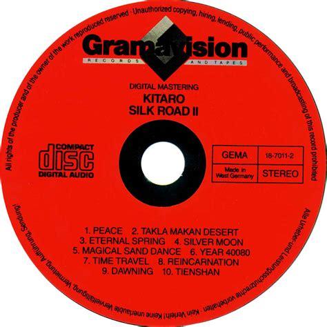 Cd Kitaro Silk Road car 225 tula cd de kitaro silk road ii portada