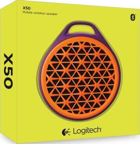Logitech X50 Mobile Bluetooth Wireless Speaker logitech x50 mobile bluetooth wireless speaker orange