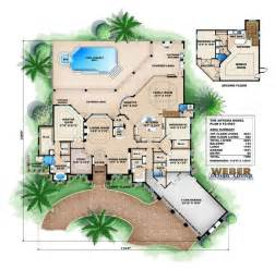 Mediterranean House Floor Plans by Mediterranean House Plan Artesia House Plan Weber
