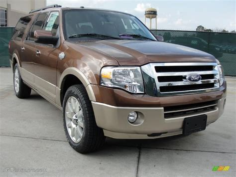 ford expedition king ranch 2011 golden bronze metallic ford expedition el king ranch