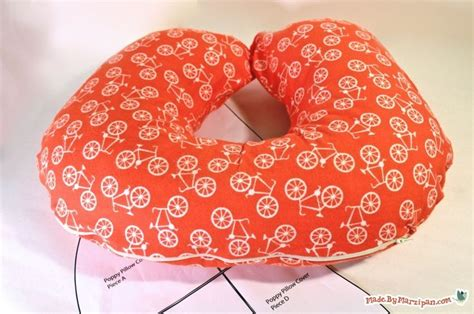 coloritpink com 187 diy pillow made like a knot sew your own boppy cover good gift idea for a mom to be