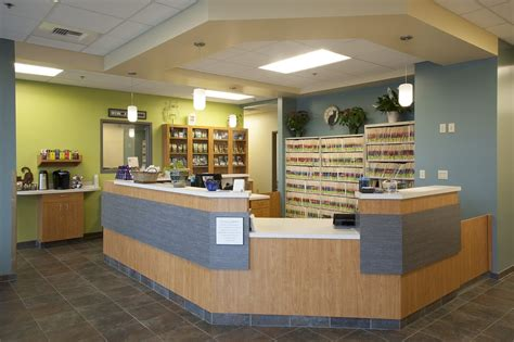 Reception area with Keurig coffee bar. Enjoy a cup during your visit!   Yelp