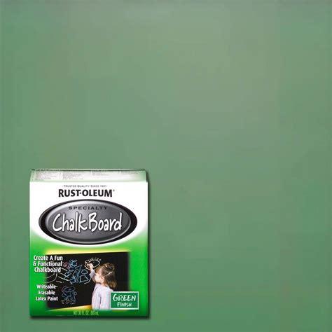 Rust Oleum Specialty 30 Oz Green Flat Chalkboard Paint