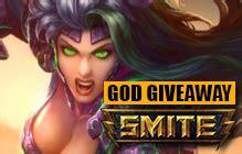 Smite God Pack Giveaway - hi rez studios mmobomb com