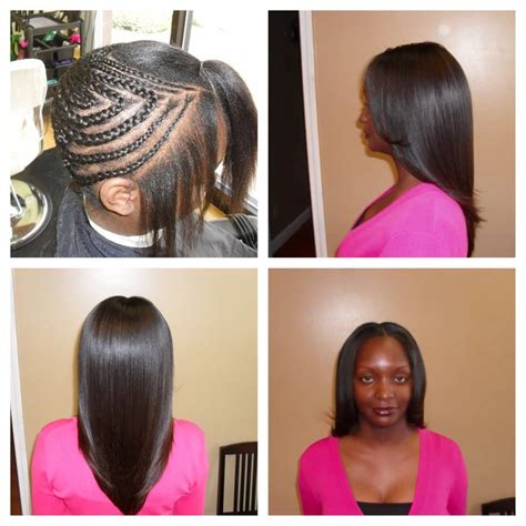 weave growth before after before after sew in weave w brazilian hair 150 value