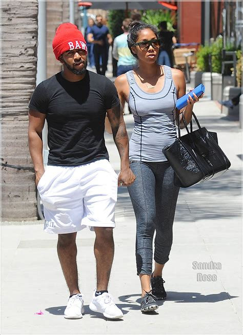 omarion and his girlfriend apryl jones sandra rose
