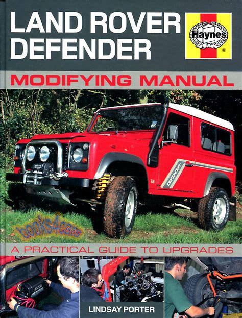 book repair manual 1997 land rover defender 90 regenerative braking land rover defender modifying manual book restoration shop service repair 4x4 ebay