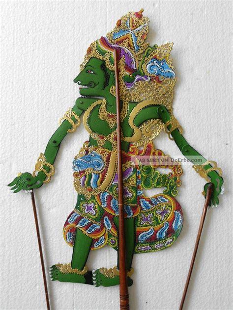 möbel aus indonesien schattenspielfigur wayang kulit aus indonesien nms26
