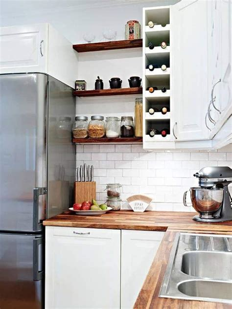 Open Shelving Kitchen Cabinets 35 Bright Ideas For Incorporating Open Shelves In Kitchen