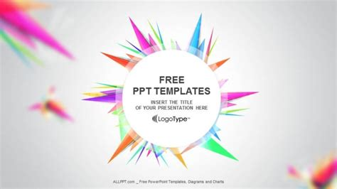 free abstract powerpoint templates abstract triangle ppt templates