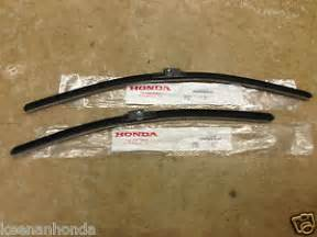 genuine oem honda civic 4dr sedan front windshield wiper