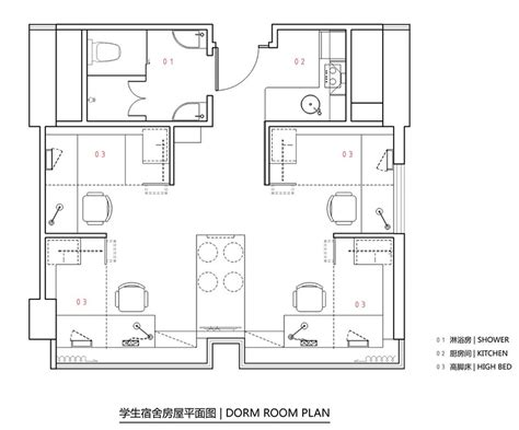 hong kong apartment floor plan student apartment complex revitalizes space efficiency