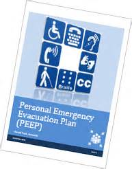 Personal Evacuation Plan Template by Personal Evacuation Plan Template Peep Care Tm 9