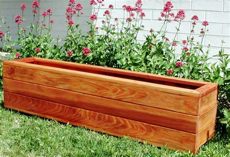 wood planter box plans home decor inspirations best