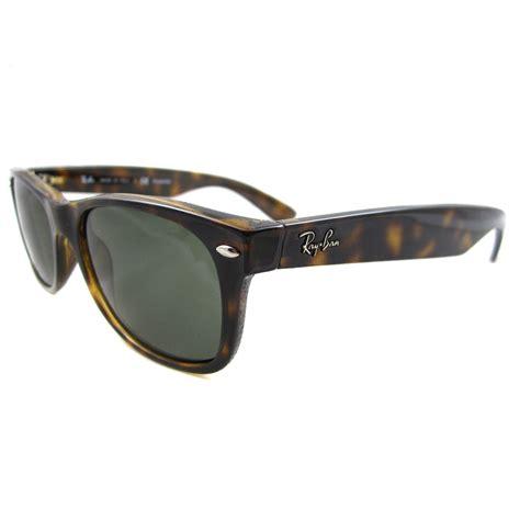 Id 902 Green Glasses ban sunglasses new wayfarer 2132 902 58 tortoise green