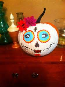 sugar skull pumpkin sugar skulls tattoos pinterest