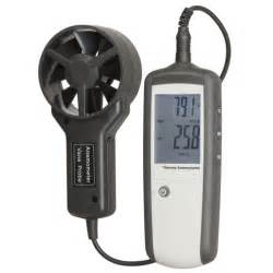 Hand held anemometer with separate sensor jaycar electronics