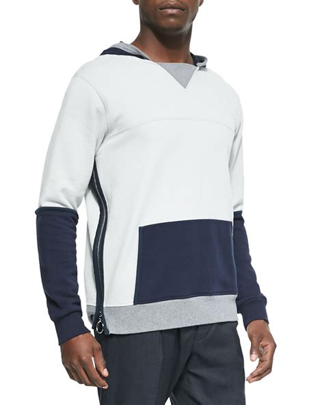 Zip Side Hoodie side zip hoodie mens zip sweater