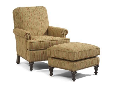accent chair and ottoman set flexsteel accents flemington chair ottoman dunk